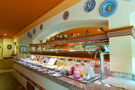 very delicious breakfast buffet Stock Photo - 12488993