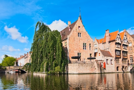 Bruges, the central part of the old city