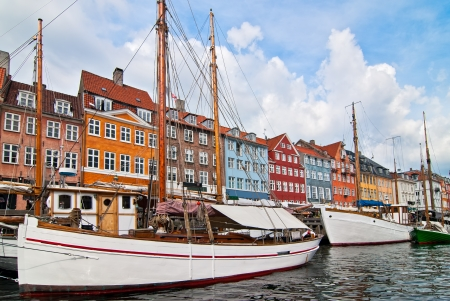 Copenhagen. Denmark. Walk through the old town.