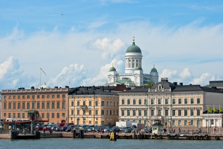 Helsinki. Finland. Nice view from the steamer. Stock Photo - 14331610
