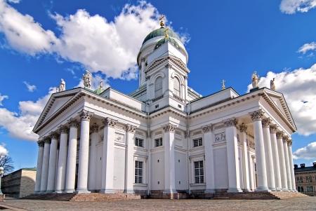Helsinki the Lutheran Church  Tourist destination  photo