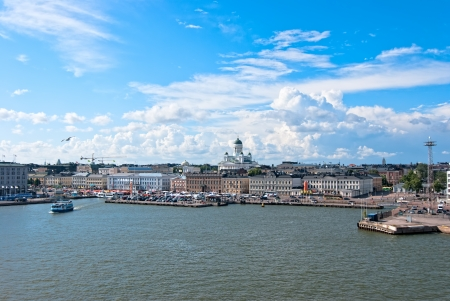 Helsinki  Finland  Nice view of the city