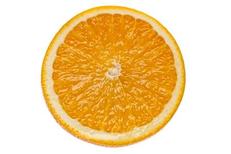 Fresh orange  Isolate on white background