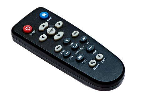 Remote control shot in the studio on a white background  Stock Photo - 15255123