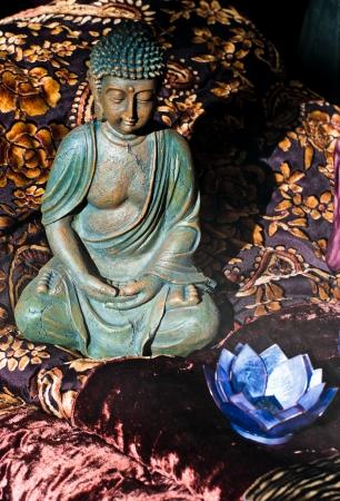 Buddha statue shot in Thailand  photo