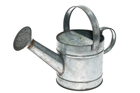 Watering can isolated on white background