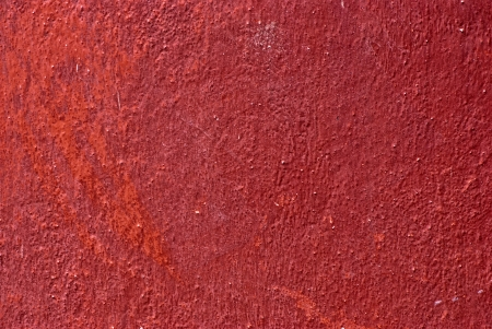 Texture the old stucco wall of red