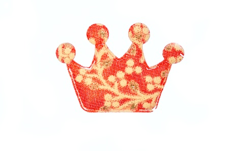 decorative crown isolated on white background