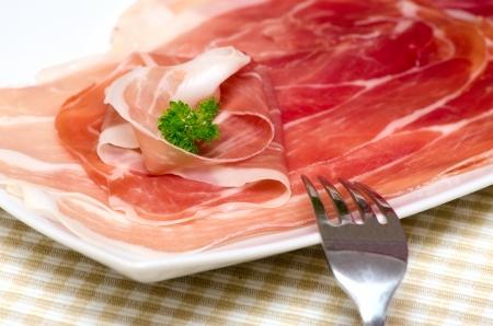 Parma ham. Italy.