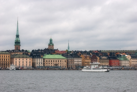 View of the old town of Stockholm. Sweden. photo