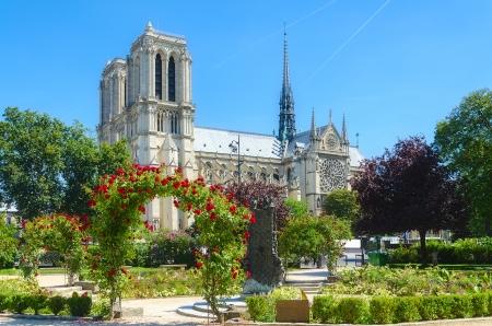 Notre Dame of Paris. France. 스톡 사진