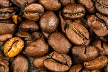 Coffee beans background, stock image. Stock Photo