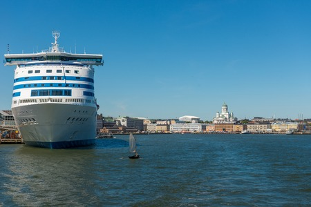 Helsinki. Finland. Nice view from the steamer.