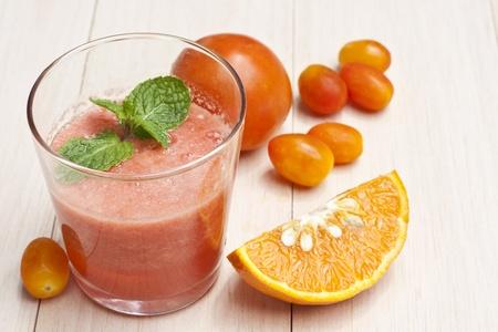 enrich: Vegetable juice  Stock Photo