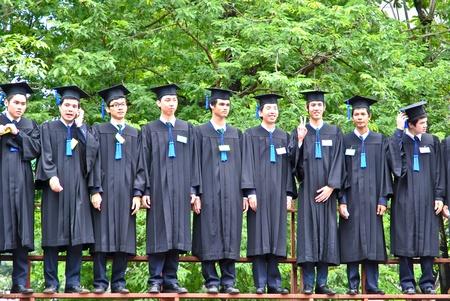 University graduation at Kasetsart university ,Thailand