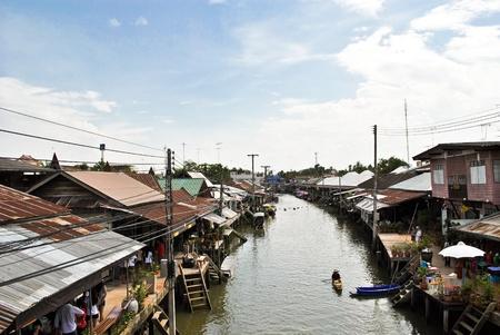 Amphawa Floating Market in Thailand Stock Photo - 10854009