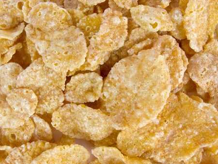 sweet crunchy cornflakes for breakfast