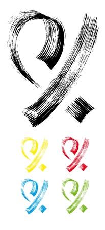 stroke brush4 Ilustração