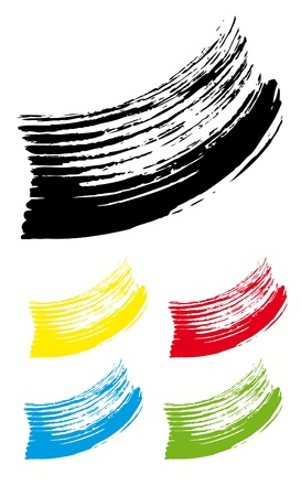 strokes brush5 Stock Vector - 13522200