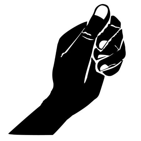man begging: hand2
