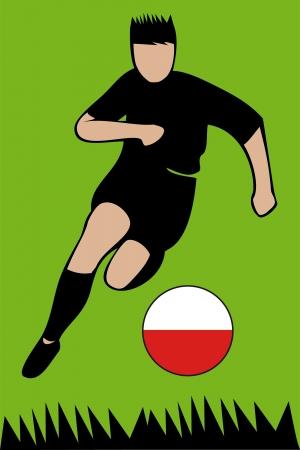Euro 2012 football championship Poland Stock Vector - 13612558