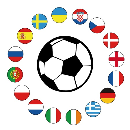 football euro2012 Illustration