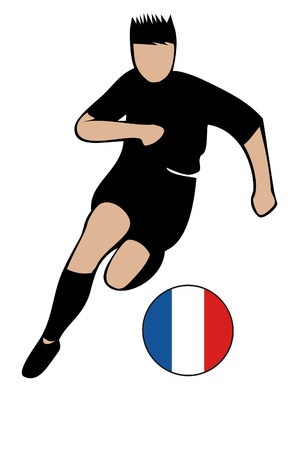 football euro france2 Illustration
