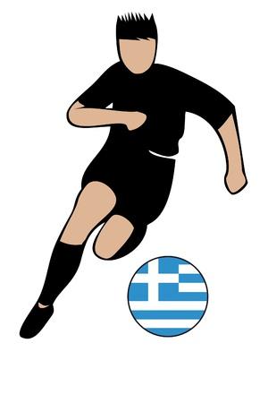 football euro greece2 Illustration