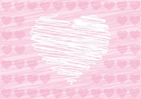 love hearts Illustration