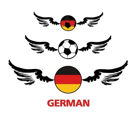 football euro German2 Illustration