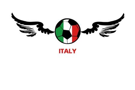 football euro Italy1 Illustration