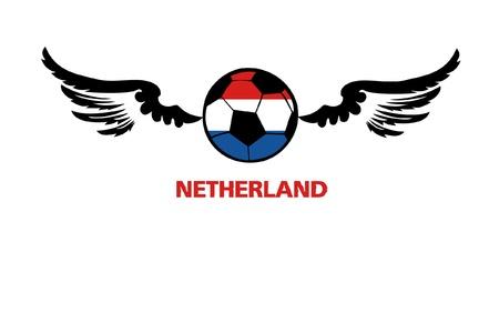 football euro Netherland1 Illustration