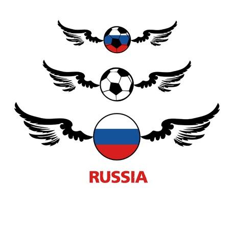 football euro Russia2 Stock Vector - 13933234