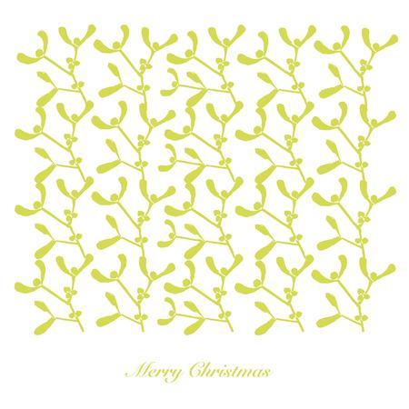padding: Christmas-mistletoe-1, illustration vectors