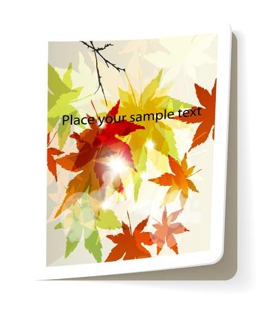 publishing: digital magazine template, glossy publishing idea, spreading advertise article, presentation illustration eps10