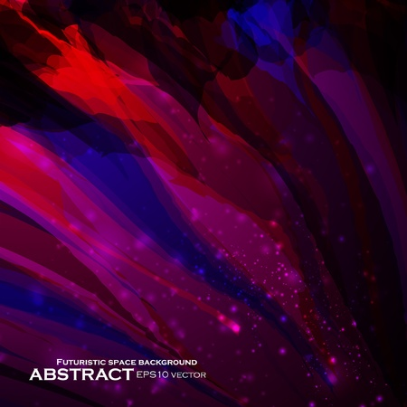 Abstract vector background, futuristic colorful strip, stylish illustration eps10 Illustration