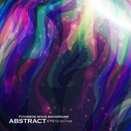 Abstract vector background, futuristic colorful strip, stylish illustration eps10 Vector