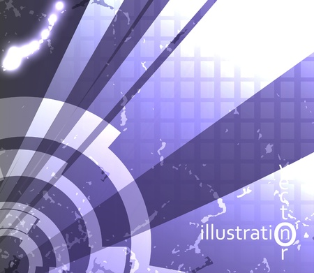 Abstract vector background, technology futuristic illustration eps10 Vector