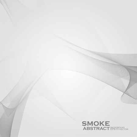 Smoke background. Abstract  vector Illustration eps10 Stock Vector - 12356324
