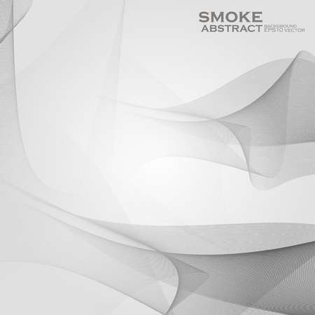 Smoke background. Abstract  vector Illustration eps10 Vector