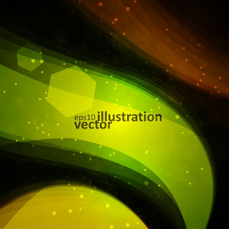 Abstract vector background, bright space, futuristic illustration eps10 Vector