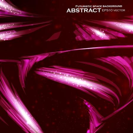 ellipse: Abstract background, futuristic colorful strip, stylish illustration  Illustration