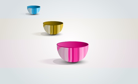 jpg abstract colored tableware photo