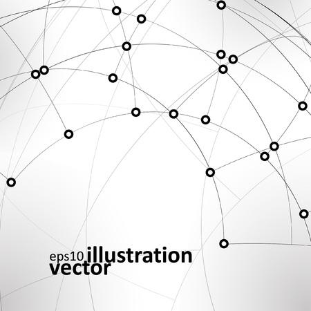 Abstract  background,  technology illustration, stylish Stock Vector - 12723712