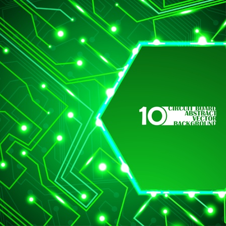 abstraction: circuit board vector background, technology illustration
