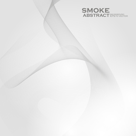 Smoke background. Abstract  vector illustration  Illustration