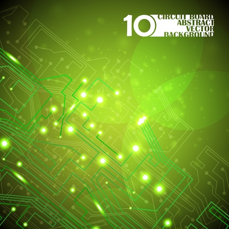 circuit board vector background, technology illustration