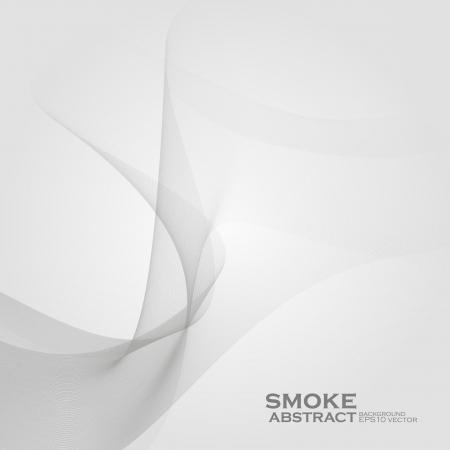 El humo de fondo. Resumen ilustración vectorial Ilustración de vector