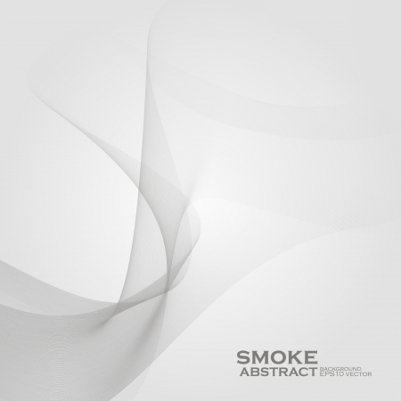 Smoke background. Abstract  vector illustration  Çizim