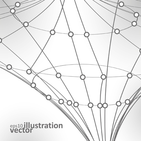 Abstract vector background, vintage technology illustration eps10 Vector